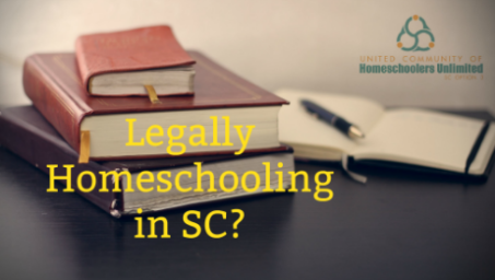 Legally homeschooling in SC pic